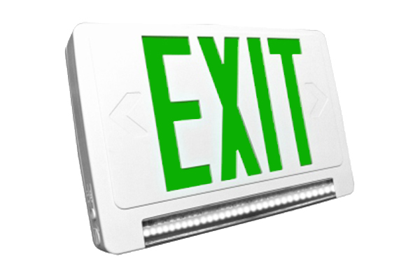 JESC-LG Exit Sign Combo With Light Guide