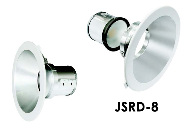 """JSRD 4"""", 6"""", & 8"""" LED SPLIT J-BOX RECESSED DOWNLIGHT SERIES WITH DIP SWITCH OPTION"""