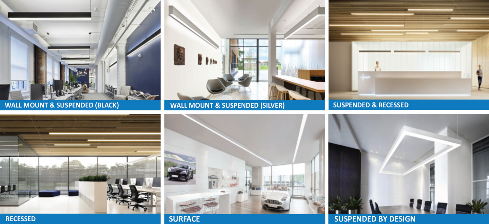 JADIL-CS Architectural Direct Indirect Continuos & Single Run Suspended Linear Series