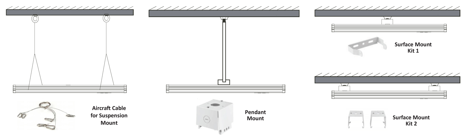JLHB-CPS & PS CCT & Power Selectable Linear High Bay Series